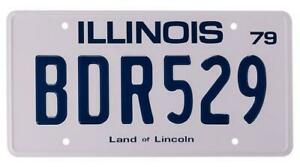 Blues-mobile-BDR529-Replica-Prop-Brothers-License-Plate-Metal-Stamped