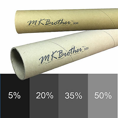 Mkbrother Uncut Roll Window Tint Film 5/% VLT 40 in x 20 Ft Feet Car Home Office Glasss