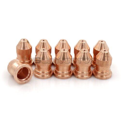 10pcs Plasma Cutting Torch 50A Nozzles Tips 21330 for PT20 PT-20AM