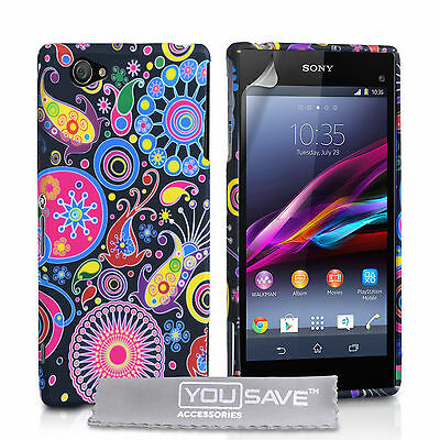 Accessories For The Sony Xperia Z1 Compact Jellyfish Silicone Gel Case Cover UK