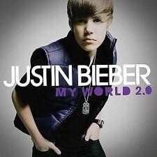 FREE US SH (int'l sh=$0-$3) NEW CD Justin Bieber: My World 2.0