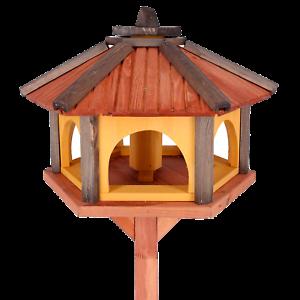 Mangeoire D'oiseaux Mangeoires À Oiseaux Avec Le Support Bois Jardin