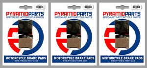 Front & Rear Brake Pads (3 Pairs) for Laverda RS 350 Alpino