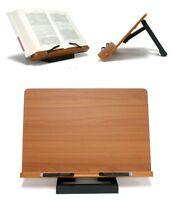 Portable Book Reading Stand Desk Document Holder with Adjustable Tilt Made Korea