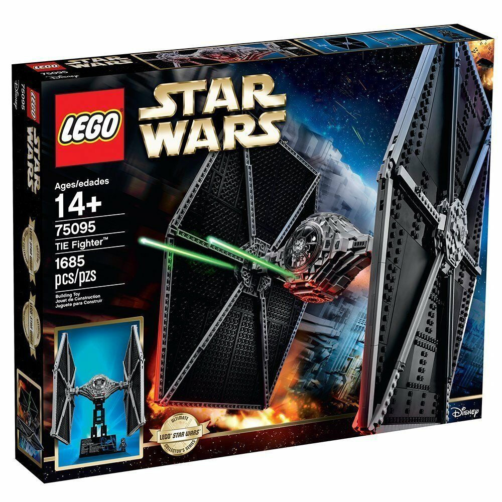 Lego  STAR WARS UCS 75095 TIE FIGHTER  Brand new,factory sealed.REDUCED