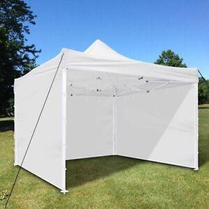 1pc 10x10 Ft Ez Pop Up Canopy Side Wall Panel Gazebo Shade