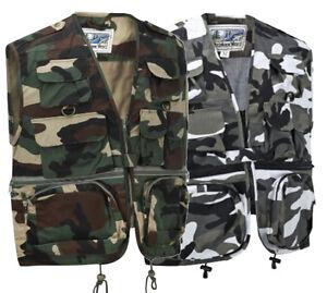 gilet hommes chasse multi de en utilitaire poches Gilet extérieur pour q0agpp