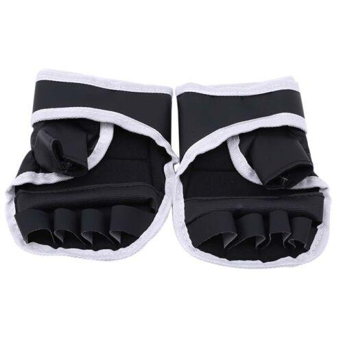Oxford Half Finger Boxing Gloves Karate Sandbag Taekwondo Mitts Protector 6A
