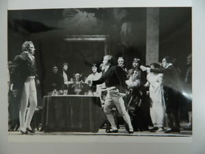 Foto Originale Tampone Fotografo Eric Thorburn Scena Opera 1980