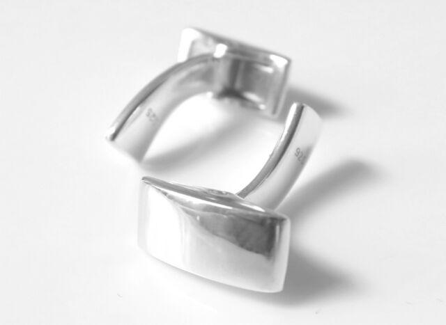 Sterling Silver Cufflink Fitting Cuff Link Swivel Backs Jewellery Making Parts