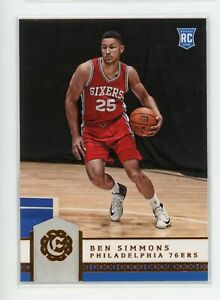 2016-17-Ben-Simmons-Panini-Excalibur-134-Rookie-RC