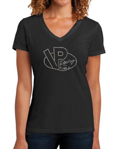 ORIGINAL VP RACING FUELS Ladies Rhinestone T-Shirt Racing Apparel VP037