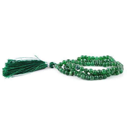 100/% réel Véritable Vert Jade Perles rondes long 28 in environ 71.12 cm Collier-Pure Beauté