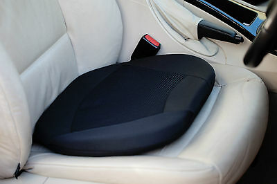 Kenley Silicone Gel Extra Comfort Cushion for Car Seat + Soft Foam Side Pads