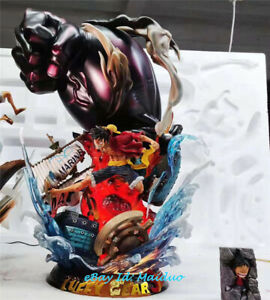 Details About One Piece Monkey D Luffy Gear 3 Statue Resin Figurine Naga Jc Model Gk 1 6 New