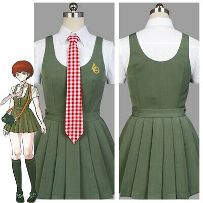 Super DanganRonpa Mahiru Koizumi Cosplay Costume:Free shipping