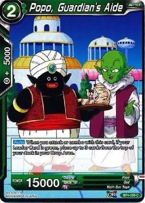 TB2-047 x4 4x Cards Dragon Ball Super CCG Mint Trusting Relationship Popo