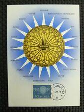 SCHWEDEN MK 1960 EUROPA CEPT MAXIMUMKARTE CARTE MAXIMUM CARD MC CM c3987