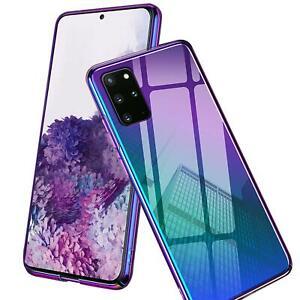 Farbwechsel-Handy-Huelle-Fuer-Samsung-Galaxy-Note10-Plus-Case-Schutz-Cover-Tasche