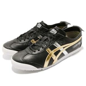 outlet store sale 09e81 e0ba1 Image is loading Asics-Onitsuka-Tiger-Mexico-66-Black-Gold-Men-