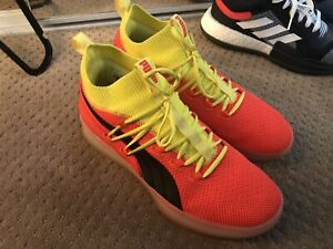 new styles 6b561 81c77 Details about New Men Size 10 Puma CLYDE COURT Disrupt Red Blast Basketball  Shoes 191715 02