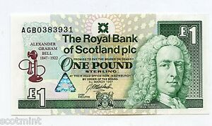 Royal Bank of Scotland Alexander Graham Bell Commemorative 1 Banknote - Ayr, United Kingdom - I WILL BE HAPPY TO REFUND COST OF ARTICLE IF ITEM DOES NOT FIT MY DESCRIPITION Most purchases from business sellers are protected by the Consumer Contract Regulations 2013 which give you the right to cancel the purchase within 14 day - Ayr, United Kingdom