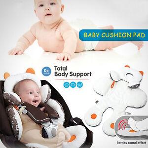 Newborn Baby Car Seat Stroller Cushion Pad Liner Mat Head ...