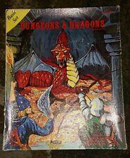 TSR D&D Dungeons & Dragons Basic Set 1st Printing, Lizard Logo, F115-R **RARE**