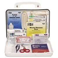 Pac-kit Ansi Plus 25 Weatherproof First Aid Kit, 143-pieces, Plastic - Pkt6430 on sale