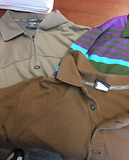 Oakley Lot 3 XL polo shirts