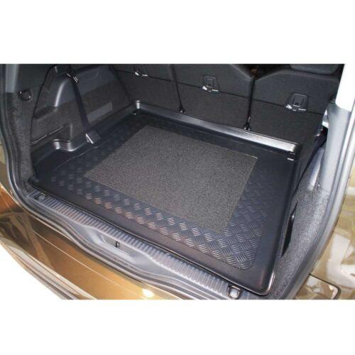 Kofferraumwanne Antirutsch für Citroen C4 Grand Picasso II 2013-3 Reihe flach