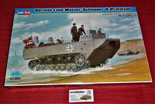 WWII German LWS Land-Wasser-Schlepper II-Prototype 1:35 Hobby Boss 82461 Neu