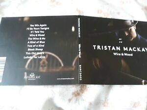 TRISTAN-MACKAY-Wire-amp-Wood-CD-2014-signed-autographed-as-new
