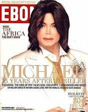 EBONY Magazine Dec 2007 Michael Jackson Collector's Edition  Johnson Publication