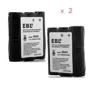 2-Pack-1200mAh-Battery-HNN9044A-For-Motorola-HNN9056-Spirit-SP10-P10-SP21-SP50