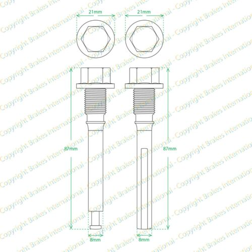 2x Febi Cab Locking Sensor 37711