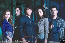 "Teen Wolf MTV Show RP 11x14"" signed autographed Cast Poster Photo #1"