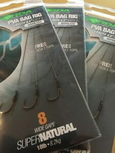 Korda-PVA-Bag-Rigs-Barbed-amp-Barbless