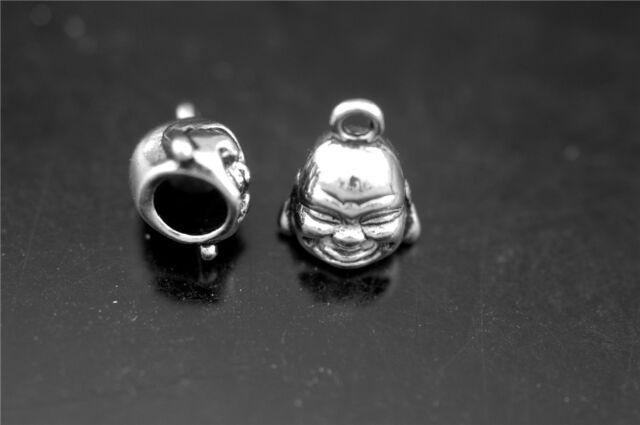 Wholesale 40Pcs End Caps Bead Stopper Fit 5mm Leather Cord DIY Necklace 5 Colors