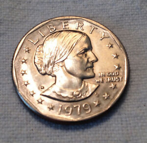 Details about 1979 D SBA Susan B Anthony Dollar Coin - Far Date