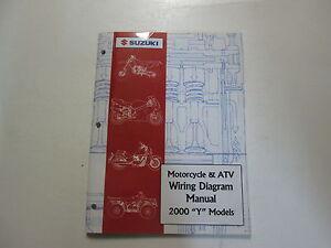2000 Suzuki Motorcycle & ATV Wiring Diagram Manual Y ...