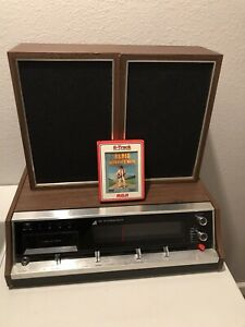 Arvin-Am-Fm-Stereo-Receiver-With-8track-Player-Radio-Works-Unknown-About-8trac