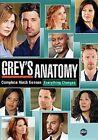 Grey's Anatomy Season 9 DVD Set 6 Discs - Region 1