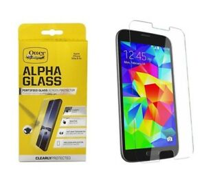 new products bb183 55360 Details about Otterbox Samsung Galaxy S5 Clearly Protected Alpha Glass  Screen Protector Temper