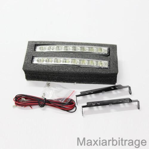 Led Daytime Running Lights Indicator For Mazda Rx-7 Mx-3 Rx-8 Mx-5 323 626 Bongo