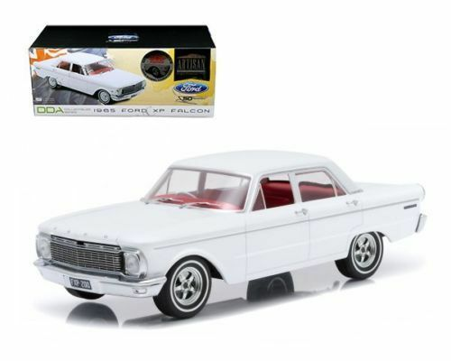 1965 FORD XP FALCON WHITE 50TH ANN. LTD 250 W.MAG WHEELS 1 18 GREENLIGHT DDA003B