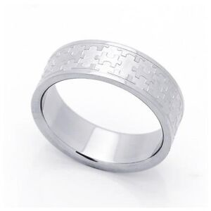 Puzzle Piece Autism Awareness 6mm Stainless Steel Ring Sz 6 11 Ebay