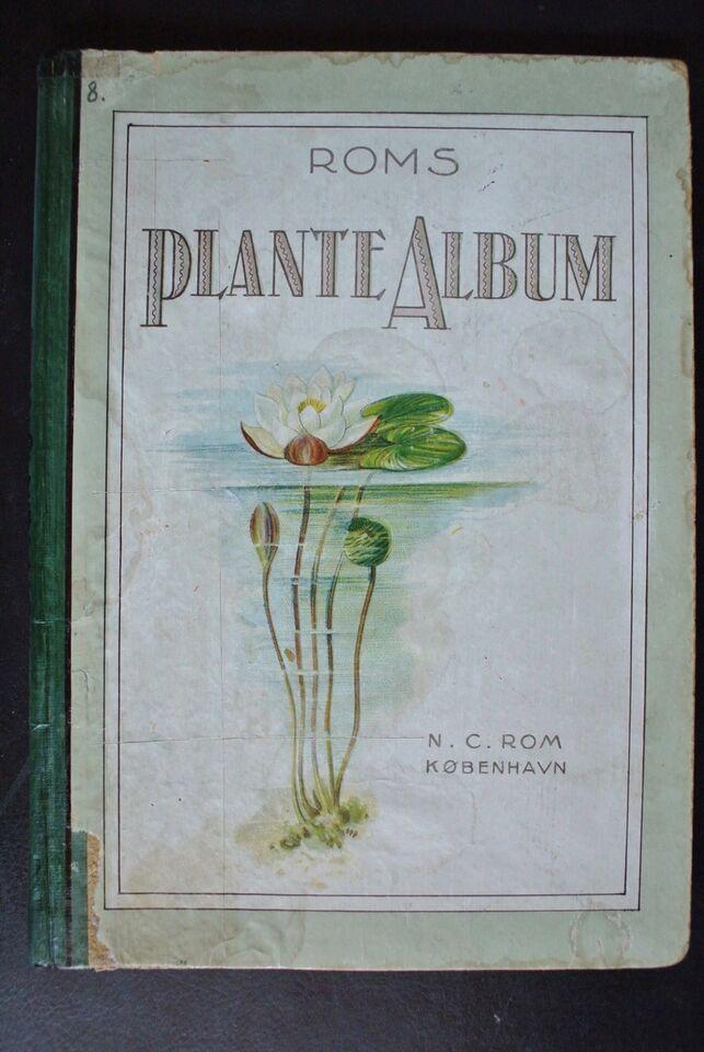 roms plante-album, emne: biologi og botanik