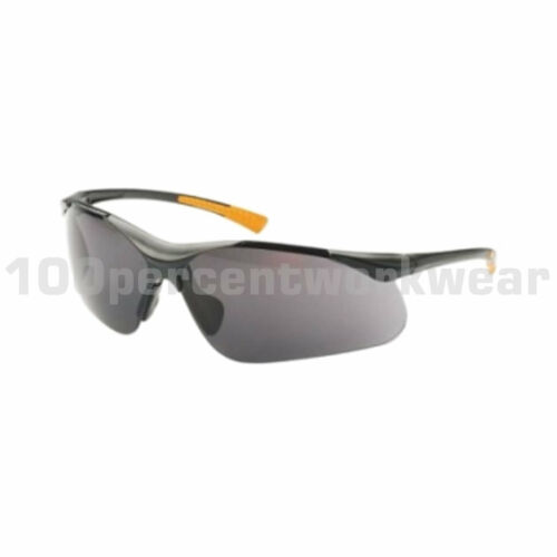 RHINOtec Viper Smoke Lens Lightweight Wraparound Safety Spectacles Specs Glasses