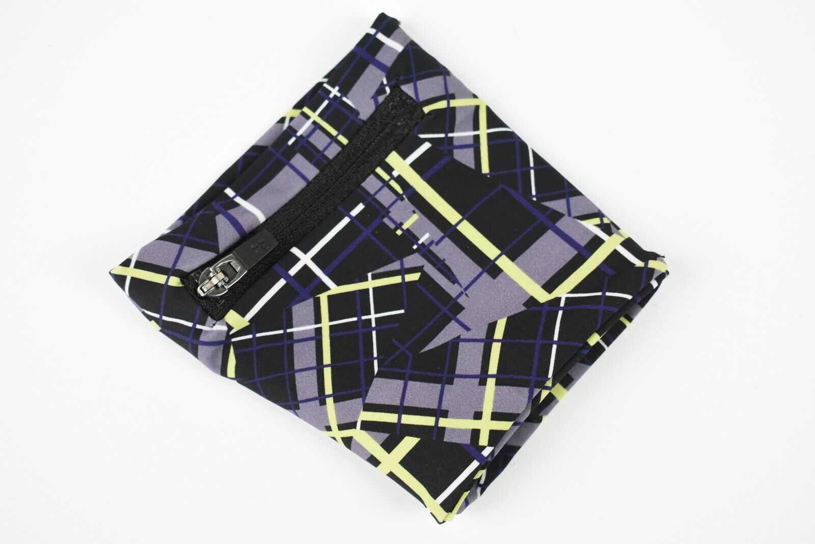 SWEATY BETTY Women One Size Abstract Print Pocketed Zip Up Arm Band 18547*